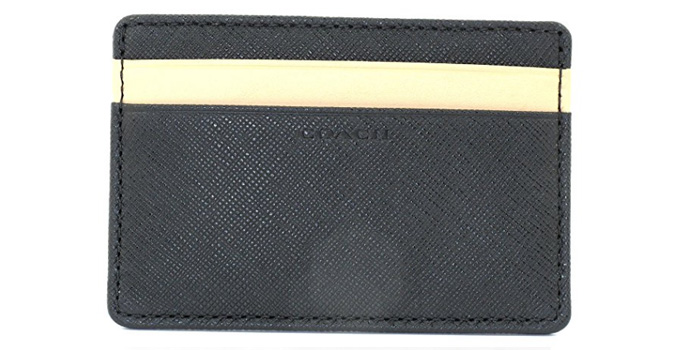 Coach-LSF-Saffiano-Leather-Card-Case