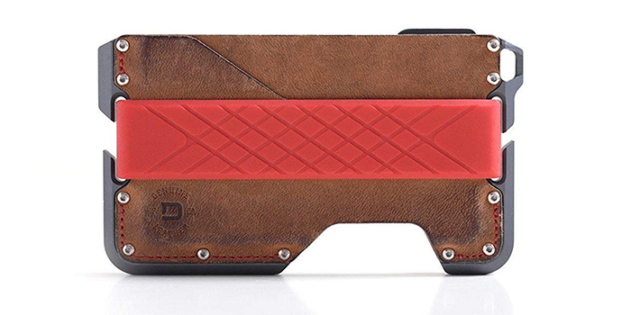 2b5a2c7c746c91 This is a well-designed wallet from Dango that is made from high quality  genuine leather that is held together by mil-spec bolts.