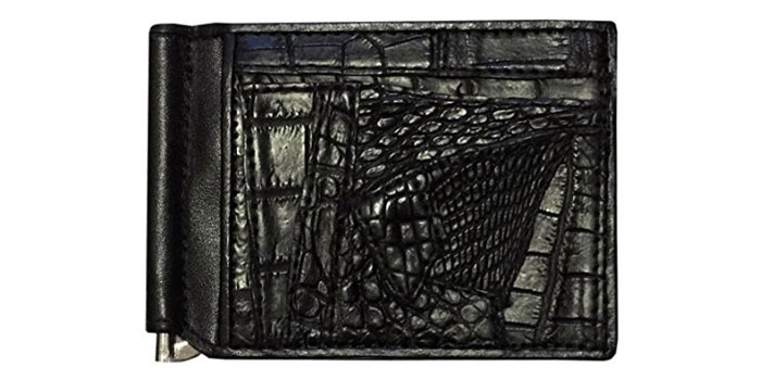 D'SHARK-Alligator-Money-Clip-Wallet