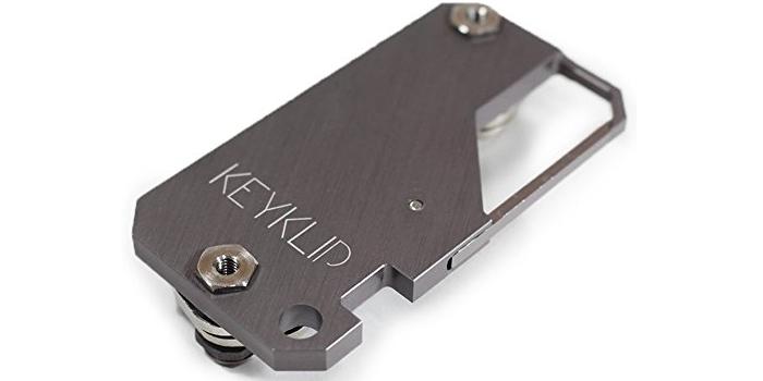 KeyKlip-Gunmetal-Carabiner-Key-Holder