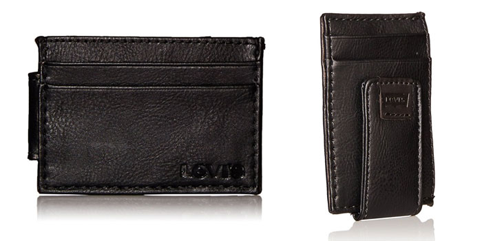 Levis-Money-Clip-Card-Holder