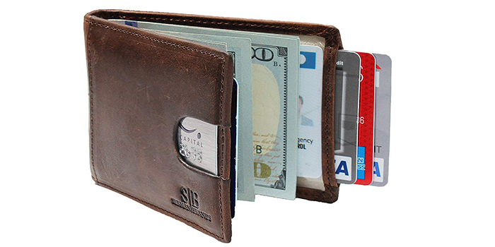 67a94afb0b8b This money clip wallet from Serman Brands is going to be the next great  addition to your wardrobe and accessories. It is made from handcrafted  grain leather ...