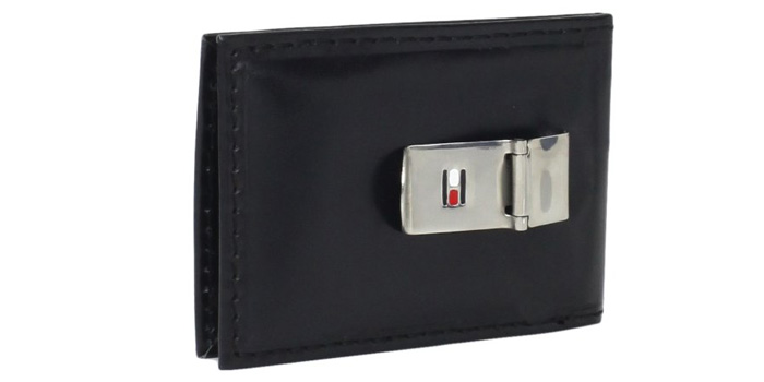 Tommy-Hilfiger-Bifold-Money-Clip-Wallet