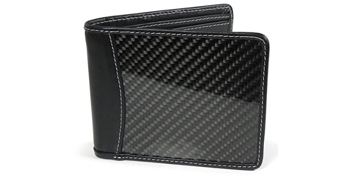 Black-Carbon-Fiber-Bifold-Wallet