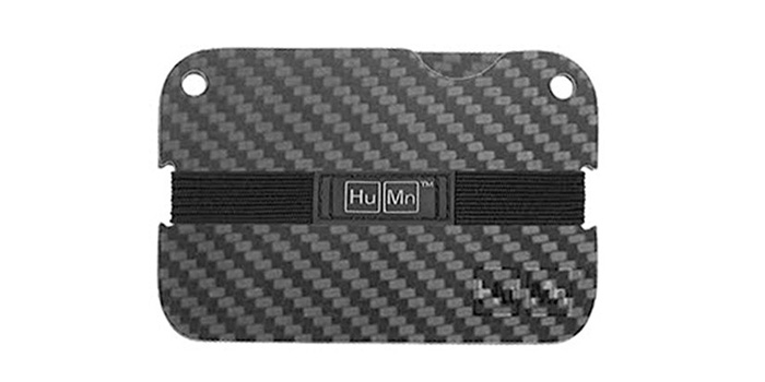 HuMn-Double-Carbon-Fiber-Plated-Mini-Wallet