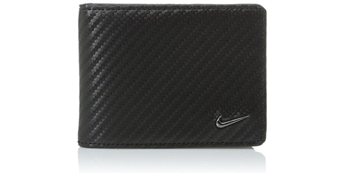 Nike-Men's-Carbon-Fiber-Texture-Billfold-Wallet