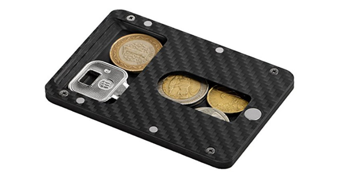 pitaka carbon magnetic card holder - Magnetic Card Holder