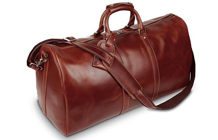 BAIGIO-Genuine-Leather-Travel-Bag