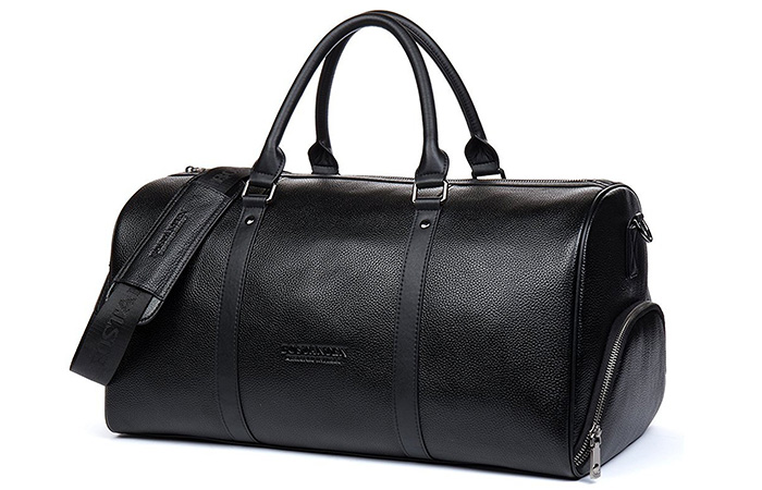 BOSTANTEN-Genuine-Leather-Travel-Weekender