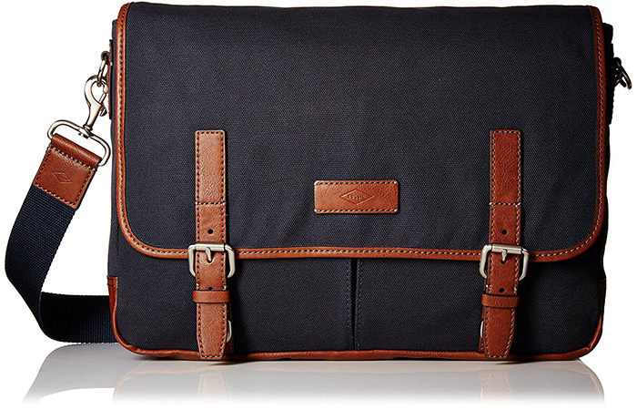 Fossil-Navy-Messenger-Bag