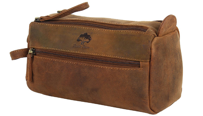 Handmade-Buffalo-Leather-Toiletry-Bag