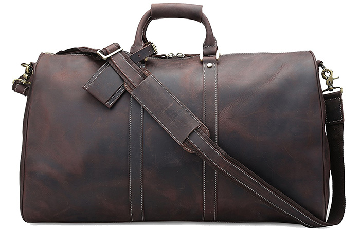 ... duffel bags and weekenders for men. 1. Polare Leather Weekender e6d3bae3c8