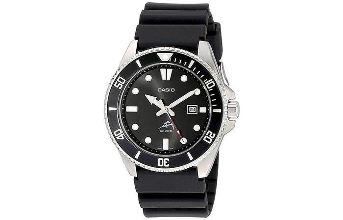 Analog-Anti-Reverse-Bezel-Watch