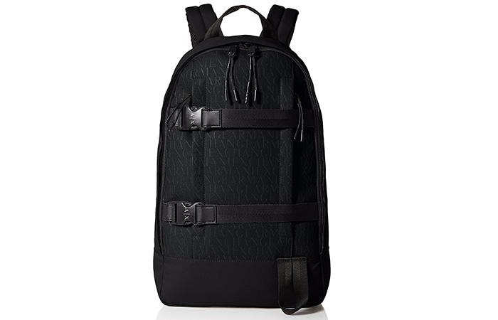 Armani-Exchange-Rubber-Nylon-Backpack