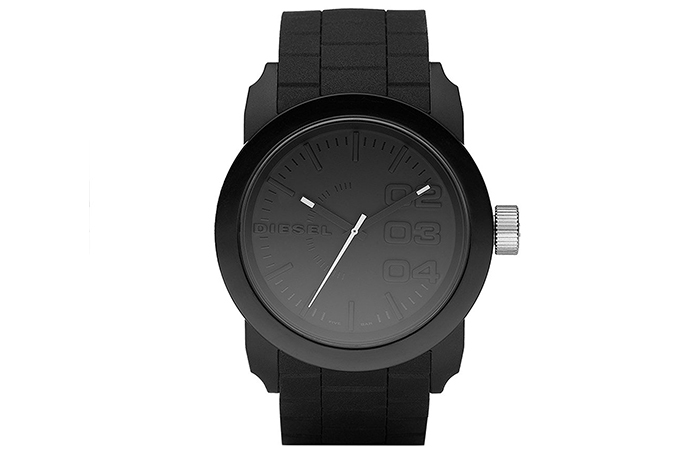 Diesel-Double-Down-Silicone-Watch