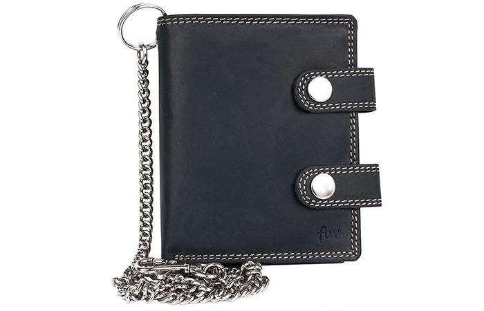 bfdefb22e0a5 28 Best Chain Wallets for Men - Kalibrado