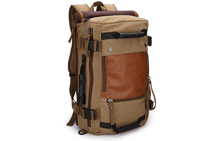 Ibagbar-Khaki-Hiking-Bag