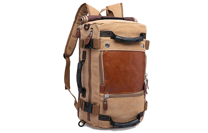 Jeff-Canvas-Khaki-Backpack