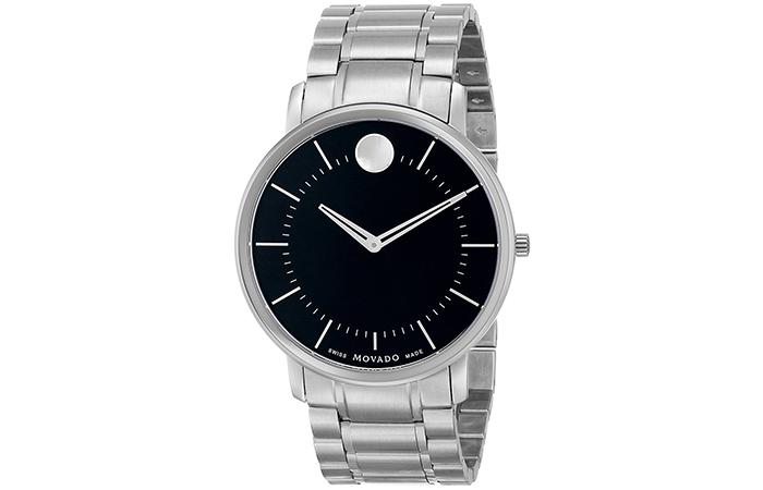 Movado-Stainless-Steel-Bracelet-Watch