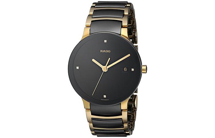 Rado-Centrix-Jubilee-Gold-Plated-Watch