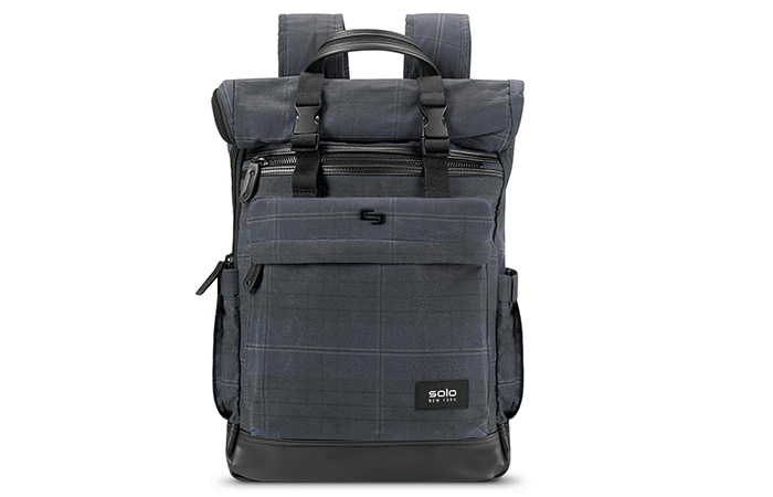 SOLO-Waxed-Roll-top-Backpack