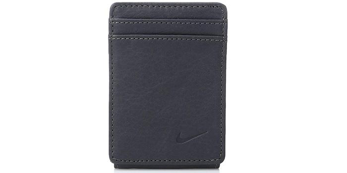 NIKE-Pebble-Grain-Leather-Wallet