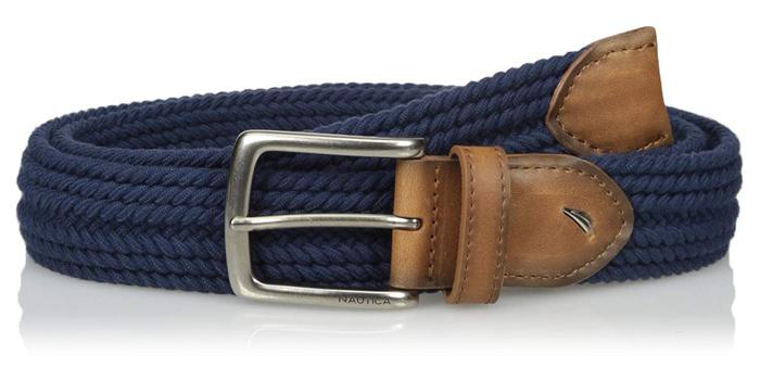 Nautical-Braided-Stretch-Belt