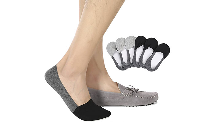 Sock Amazing 8 Pairs Fashion Premium Bamboo Fiber No Show Socks